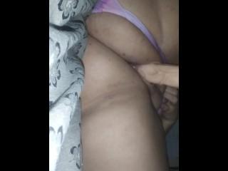 Bbw wet and sloppy dildo
