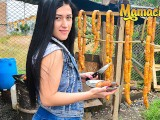MamacitaZ - Super HOT Colombian Meat Vendor Craves A Different Type Of Meat