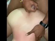 Boyfriend Videos Cheating Girlfriend with Her First BBC
