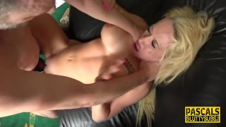 Throated submissive milf Lexi Ryder