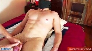 My str8 neighbor made a porn where he gets massaged in spite of him