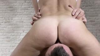 Make my pussy clean. Female orgasm. FHD