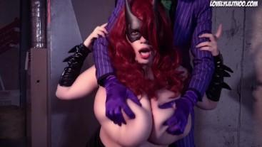 Batgirl Lesbijki porno