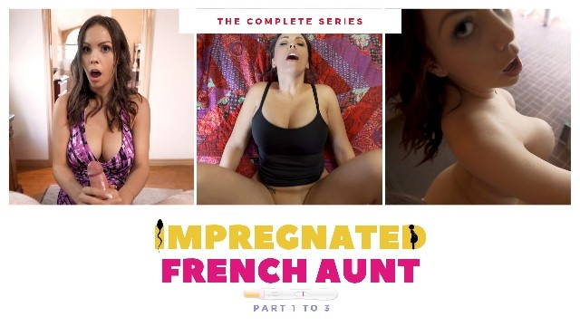 Erotic french comics Impregnated french stepaunt - complete