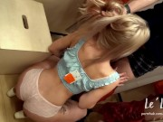 REAL RISKY PUBLIC FUCK & SUCKING DICK IN THE MALL DRESSING ROOM