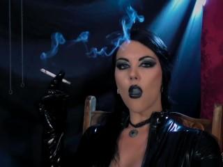 Smoke Sanctum Preview - Smoking Fetish - Young Goddess Kim