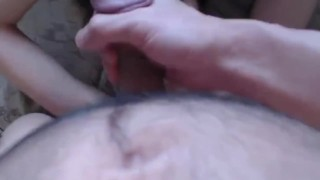 Hot sex and cum on face
