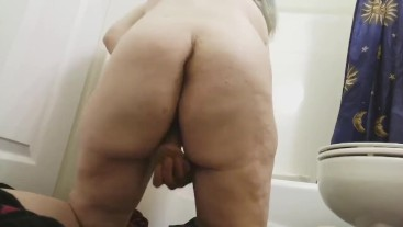 FTM Solo Fuck From Behind