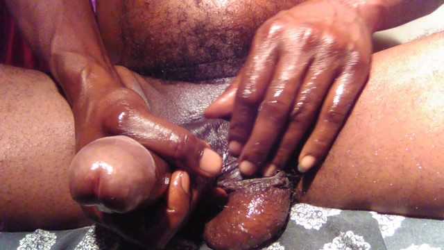 Huge black uncut dick Load moaning about my big black uncut wet dick cumming hard for you bitch