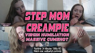 Step Mom Creampie Impregnation Breeding Fantasy