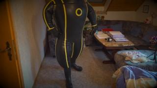 Deflation MD-Latex Cyborg Suit