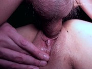 A real married woman met for the first time and cum shot SEX ~
