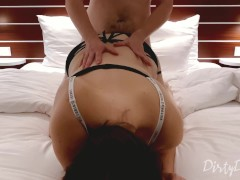 cheating wife gets fucked by a tinder date in a hotel