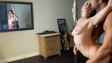 Horny Cam Slut gets dicked down pt.1