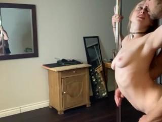 Horny Cam Slut gets dicked down pt Brad Newman, Laney Grey
