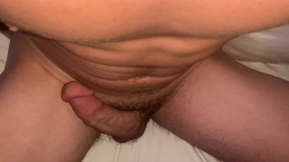 Moaning While i Hump my Cock Until a Massive Orgasm Shot (One Hour Edge)