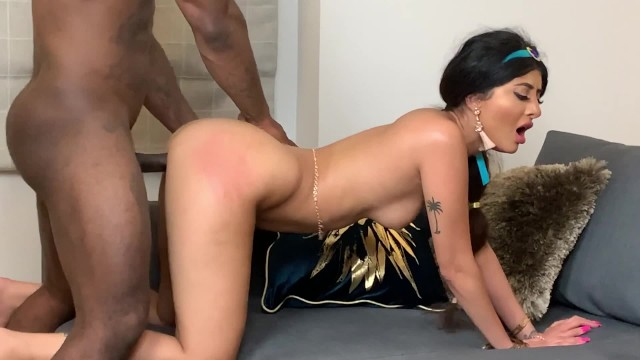 Marina valle nude - Princess jasmine the big black cock