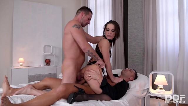 Milf bondage porn galleries Xxl cocks stuffed balls deep into submissive babe nikita belluccis asshole