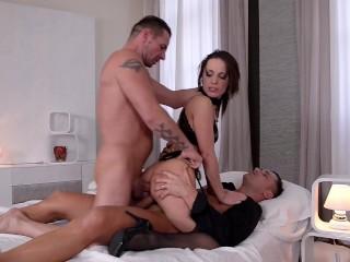 Xxl cocks stuffed balls deep into submissive babe nikita belluccis asshole