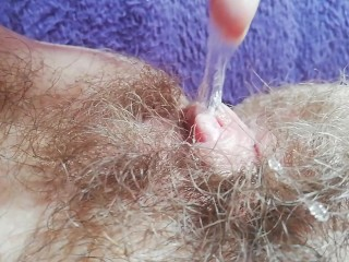 Super hairy bush pussy compilation close up HD
