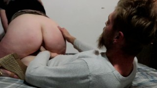 PAWG rides big dick