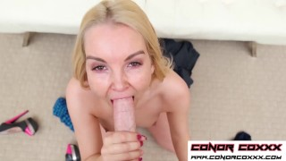 ConorCoxxx-Cuckold POV blowjob with Aaliyah Love