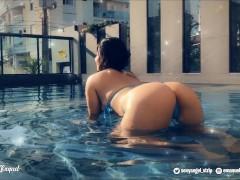 RolePlay Fucking Teen Girlfriend summer vacations - Big boobs Twerking ass