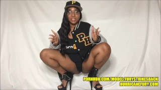 SQUIRTING: MY PORNHUB VARSITY JACKET EXCLUSIVE IS ONE OF MY BEST VIDS