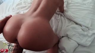 MILF Masturbate Pussy Dildo and Hardcore Sex in The Bathroom