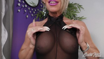 Jizz For My Big MILF Tits - Nikki Ashton -