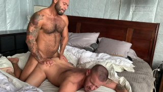 LEO FORTE GIVES SEAN A DOUBLE LOAD BREEDING