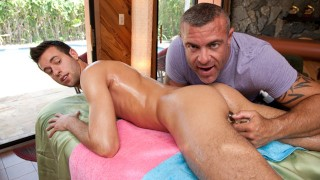 RUB HIM - Trace Michaels Gives Tyler Haul An Erotic Massage