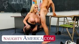 Naughty America – Rachael Cavalli Kristen Conner fucks student