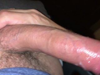 close up cumshot uncut cock jerk off solo handjob big load 4k 60fps