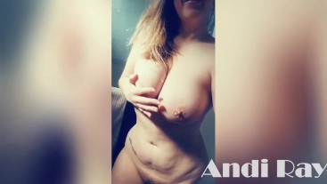COMPILATION // CURVY BLONDE PAWG ANDI RAY SHOWS OFF HER CURVES FOR SNAPCHAT