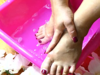 Washing My Feet