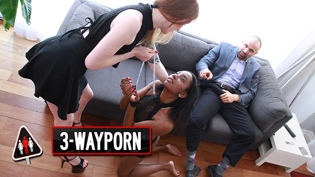 Ginger toon porn - 3-way porn - ginger girl use her sex slave for a threesome