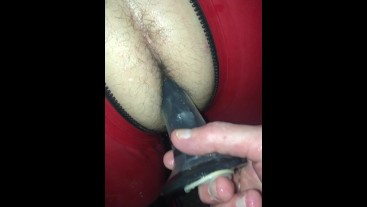 Rubber lad restrained and Used