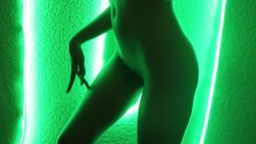 Neon Lights Dancing Artistic