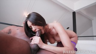 Jules Jordan – Natural Beauty Eliza Ibarra Takes On A Big Black Cock