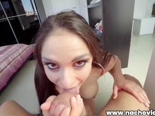 Nacho fucks her bald and meaty pussy Marta La Croft, Nacho Vidal
