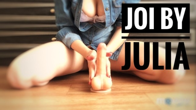 Tips masturbation dildo Best joi ever by julia-softdome. tip polishing