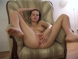 Hot sex after shoots with young model Mia