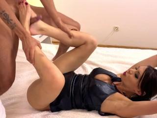 Foot Fetish, masturbation, cunilingus, mistress