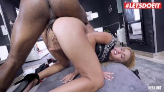 LETSDOEIT - Cherry Kiss Takes a Hardcore Anal Test For Her Limit