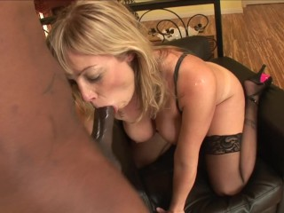 PAWG Blonde Teen Gets Pussy And Ass Fucked Hard by Monster BBC