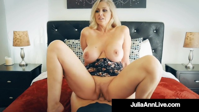 Julia anne porno Busty blonde cougar julia ann banged by nervous hard cock fan