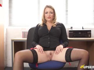 Penny Lee Office Pussy Open Leg JOI