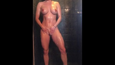 SnapChat Shower and Dildo