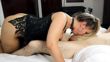 Stepsister teaches Brother and gets Rewarded with Creampie